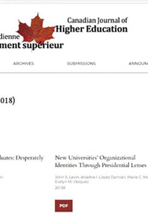 Canadian Journal of Higher Education