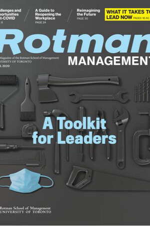 ROTMAN MANAGEMENT MAGAZINE,